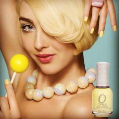 Orly colour feature: Lemonade